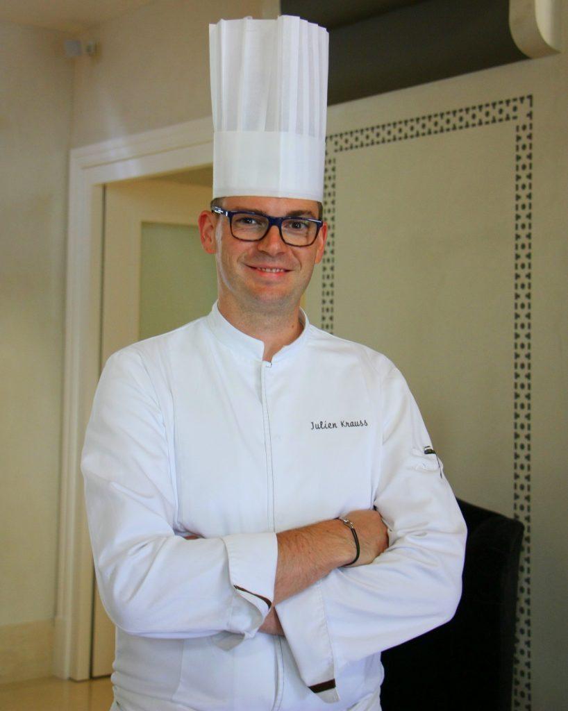 Chef du Royal Savoy Julien Kreuss