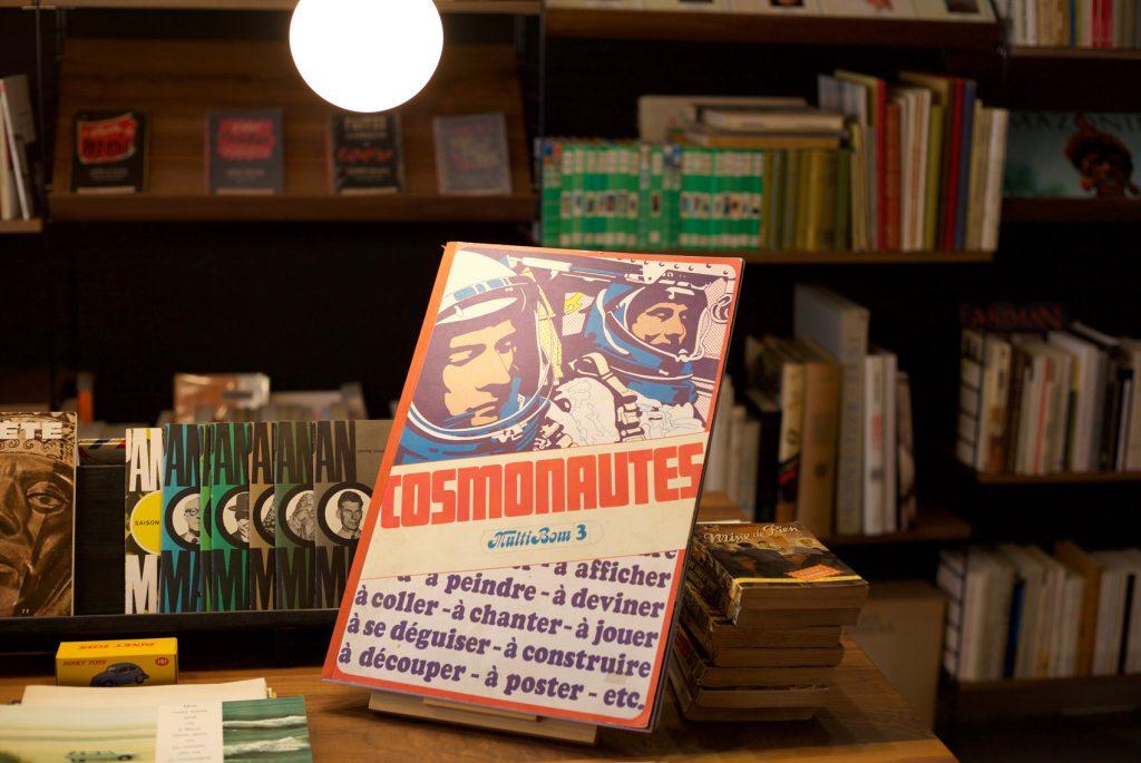 Molly&Bloom librairie, cosmonautes