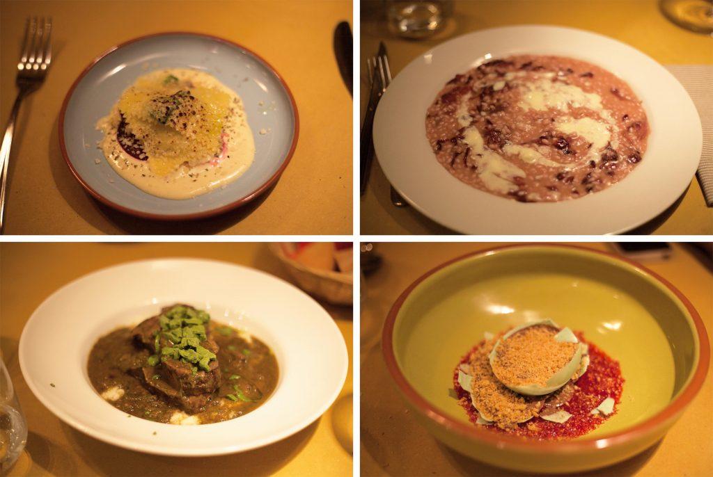 Les plats de Cucina 41, restaurant italien à Lausanne