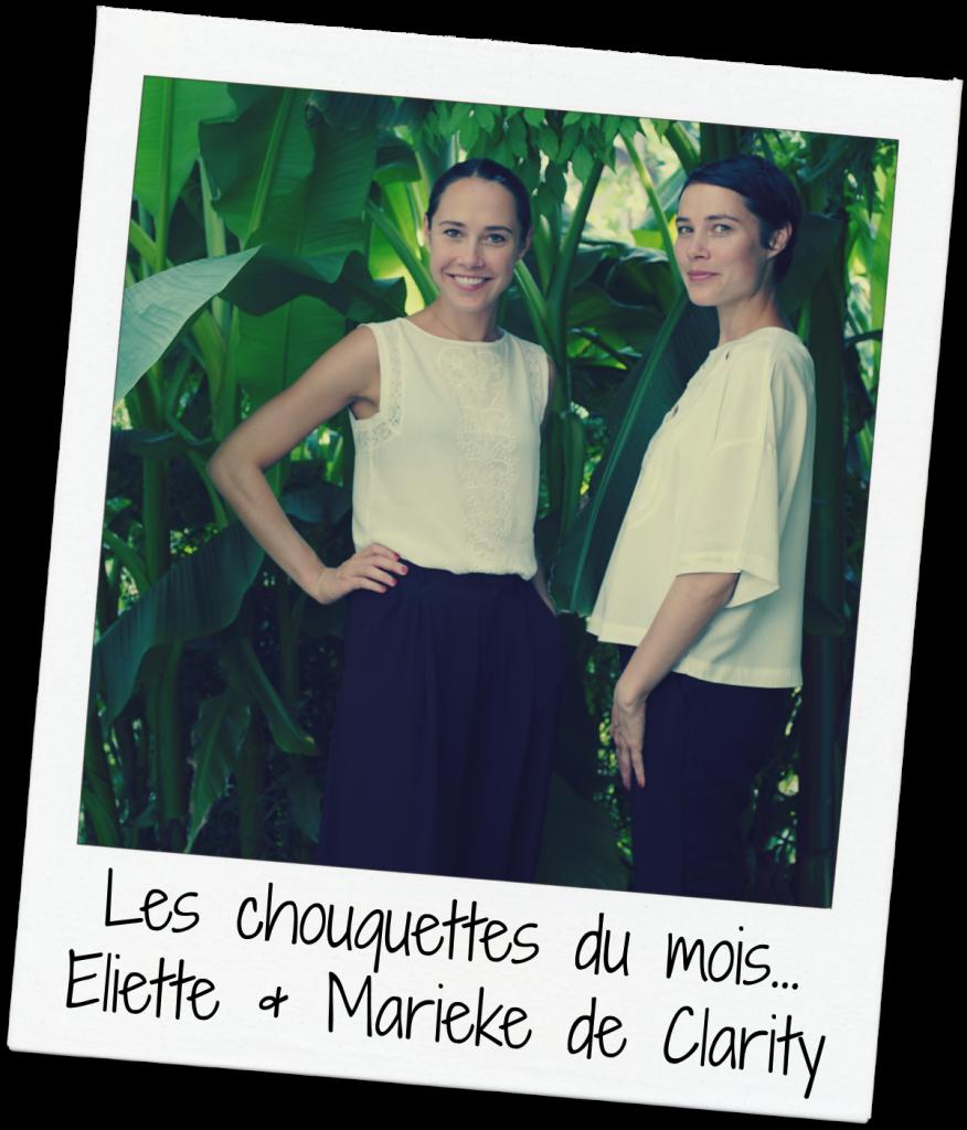 Clarity - Eliette et Marieke polaroïd