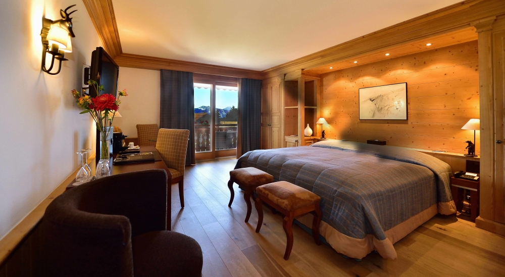 Chambre Chalet Royalp hôtel et spa