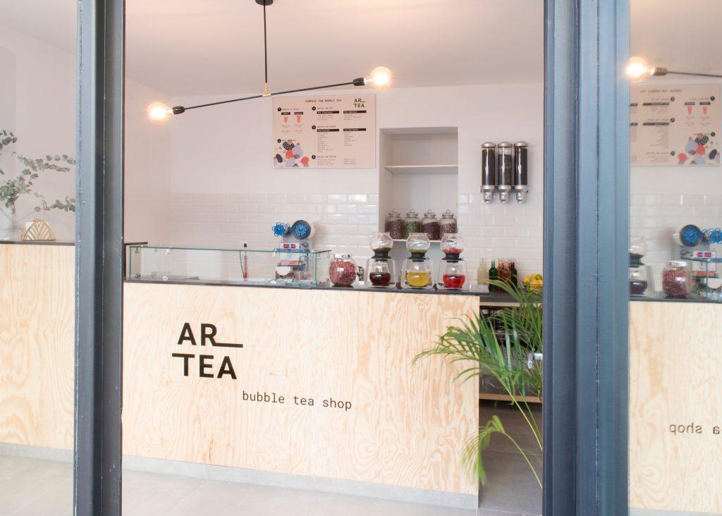 le bubble tea shop Artea