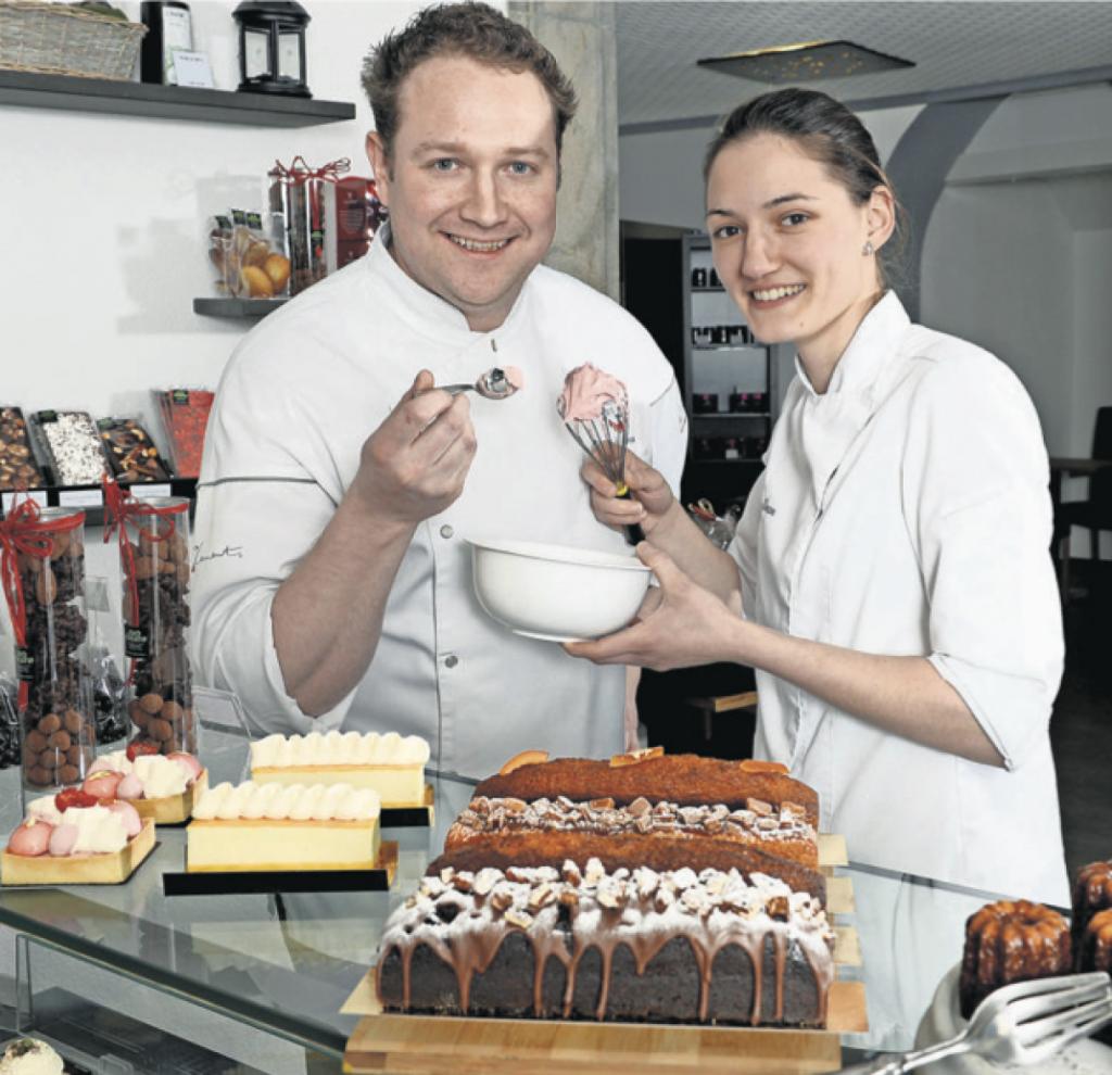 Le Duo Créatif - couple de pâtissier