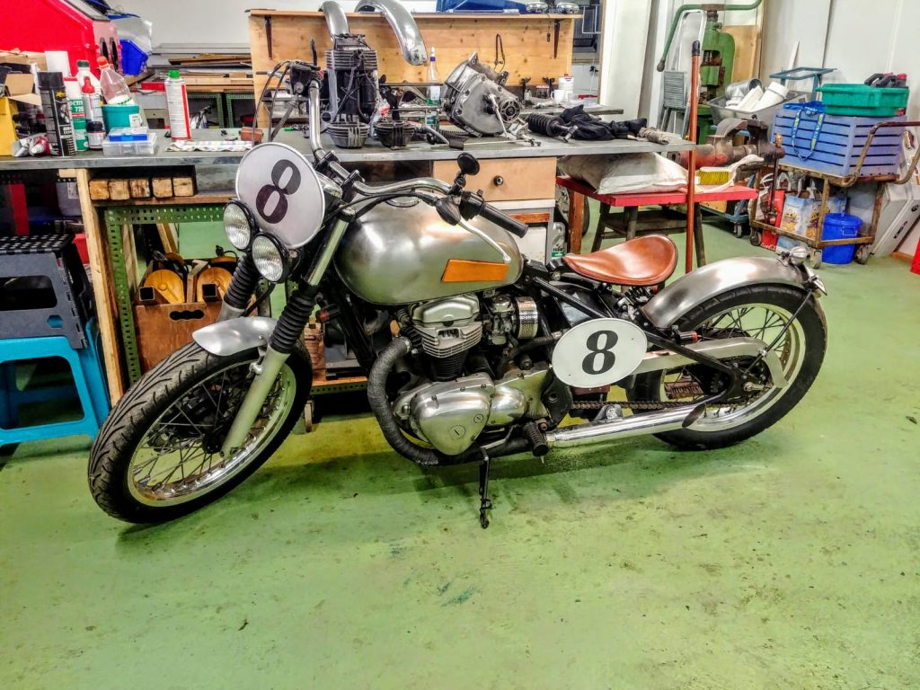 Rideshaper moto de robin le fondateur