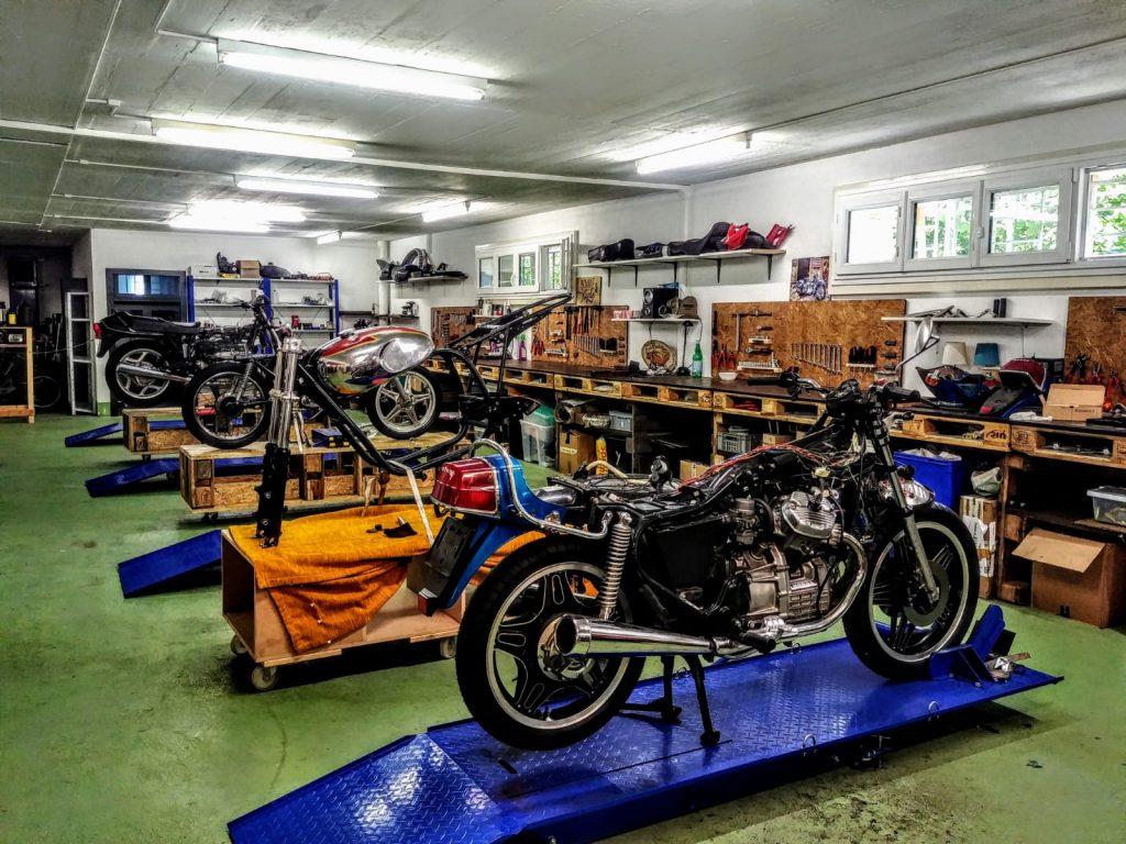Rideshaper vue d'ensemble de l'atelier participatif moto