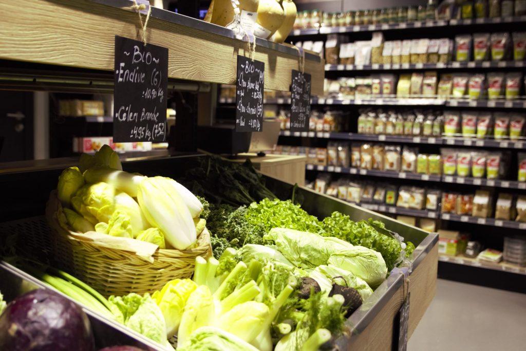 fruits et légumes ôbio
