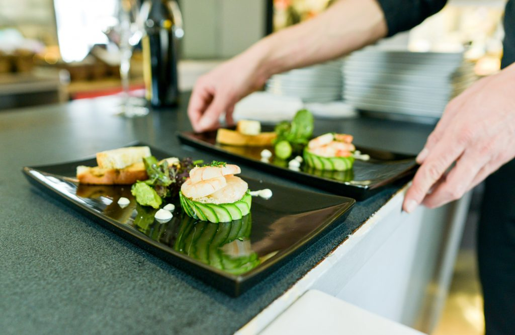 le-cinq-restaurant-bistronomie-lausanne-entrée