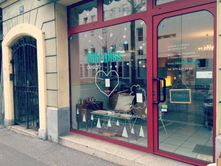 Little Miss Design vitrine lausanne