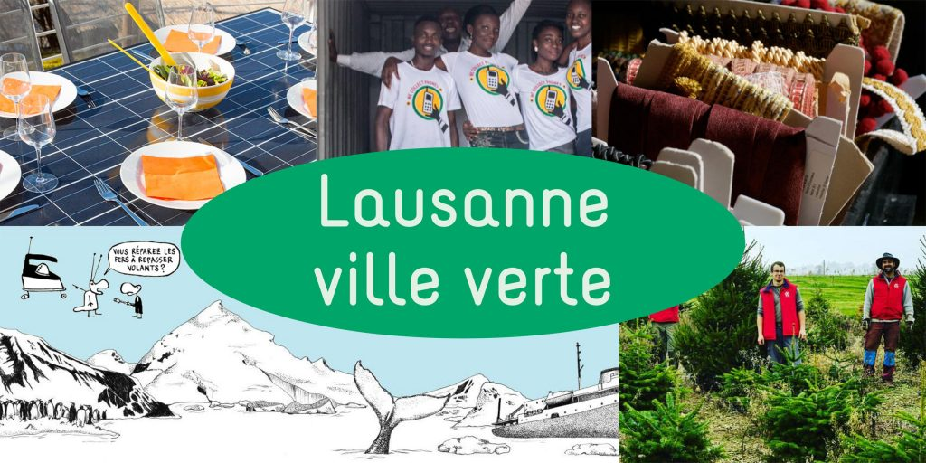 Démarches et projets durables à Lausanne