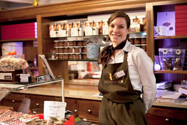 Célia, La Chocolatière