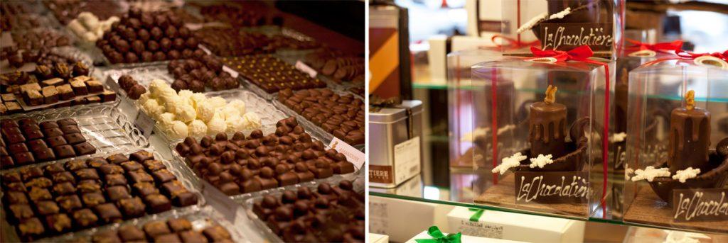 La Chocolatière, truffes et pralinés