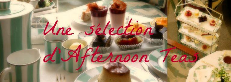 L'Afternoon Tea au Claridge à Londres, une référence.