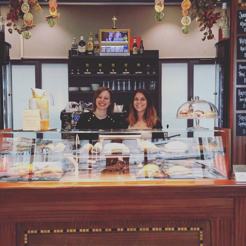 Anne et Léonie, au Kiosque Saint-François à Lausanne