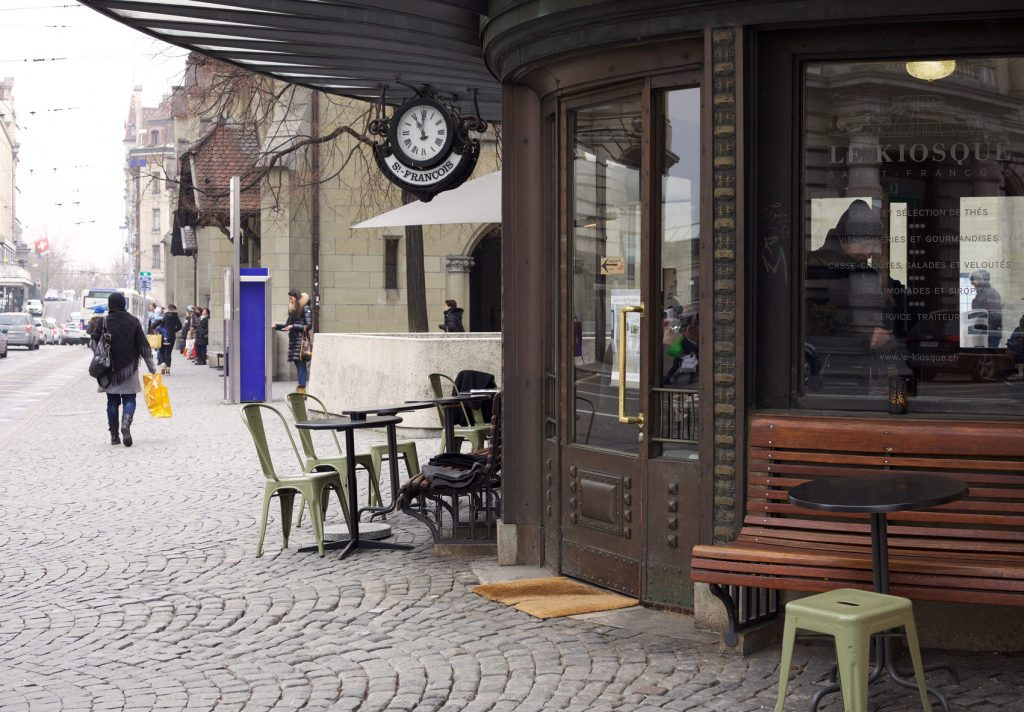 Le Kiosque Saint-François, Lausanne