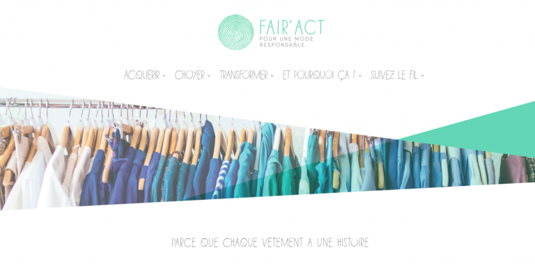 FAIR'ACT le site internet