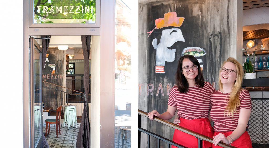 Alejandra et Sarah - Tramezzini Bar