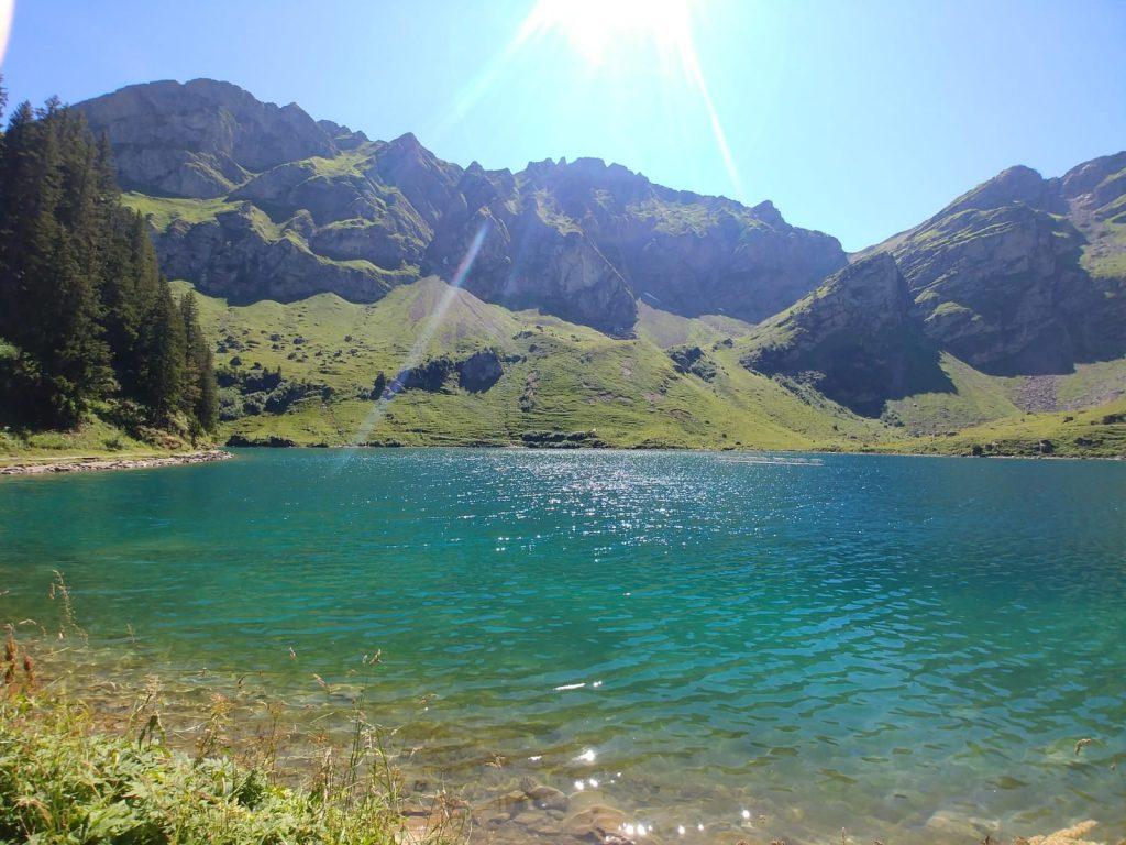 lac de lioson vaud randonnée