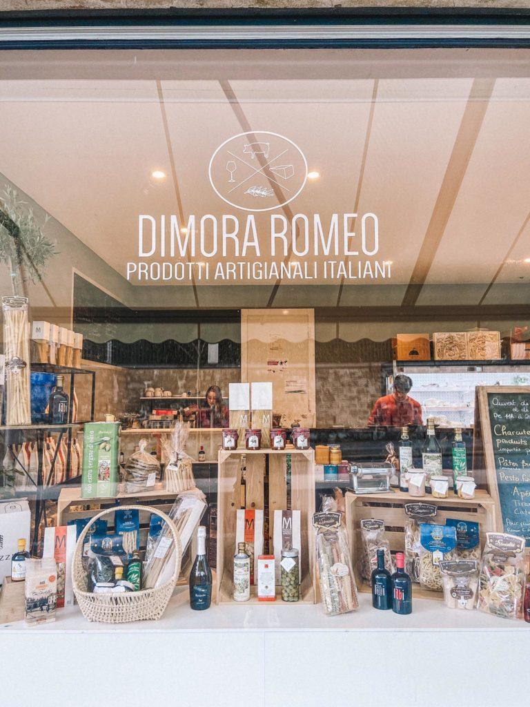 Dimora-Romeo-epicerie-italienne