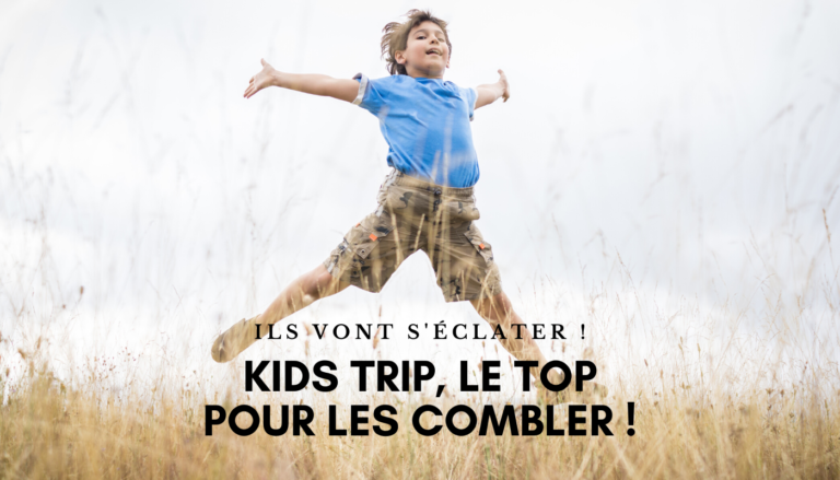 Kids Trip, les camps de vacances pour enfants dans le canton de Vaud