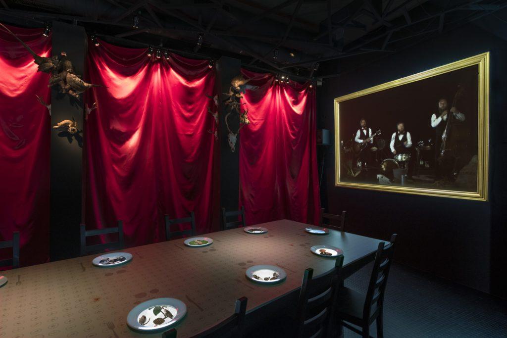 """Exposition """"Manger"""" au Museum de Neuchâtel."""