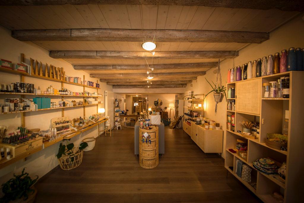 Lutry Nature intérieur boutique