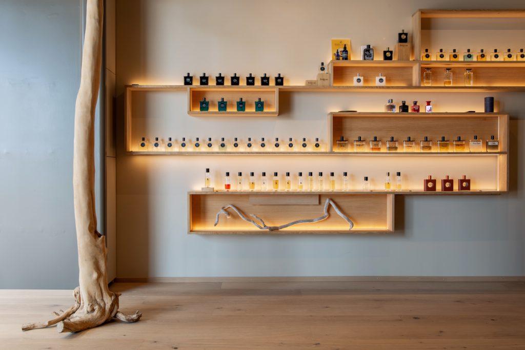 Flacons de parfums de parfumerie de niche et haute parfumerie Philippe K Lausanne