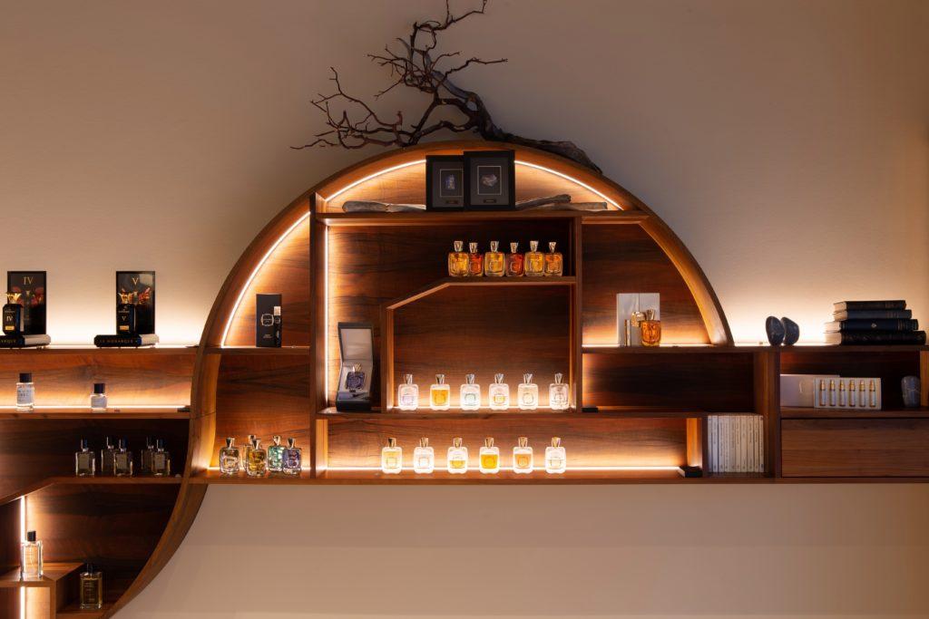 Parfums de haute parfumerie et parfumerie de niche chez Philippe K. Lausanne