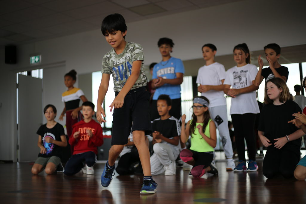 Cours de danse pour enfants au studio Paname Academy à Lausanne