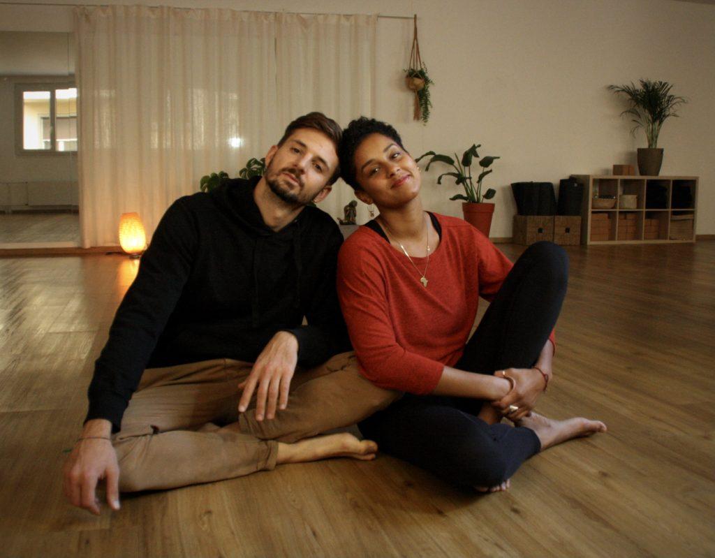 Anja et Lucas, les fondateurs du studio Paname Academy à Lausanne