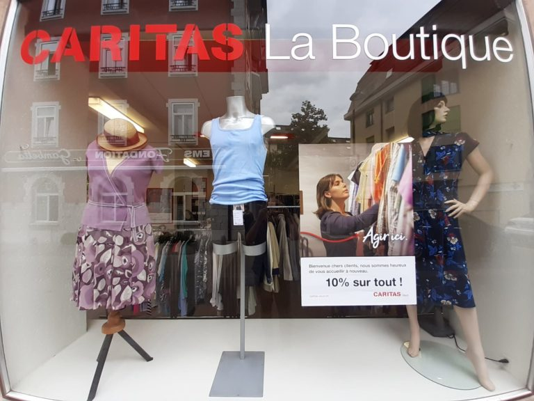 Boutique Clarens 1 - Caritas Vaud