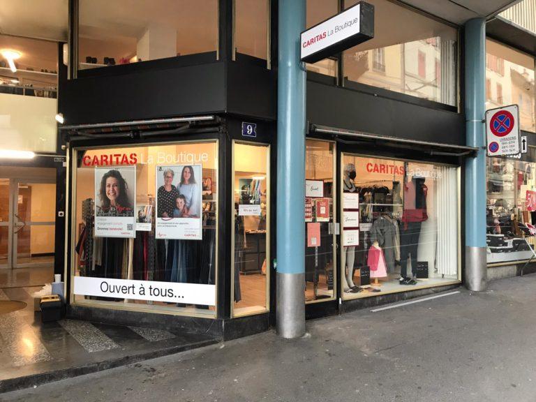 Boutique-Caritas-tunnel-lausanne-seconde-main-homme-femme-enfant